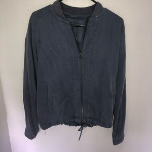 Slate blue American Eagle jacket